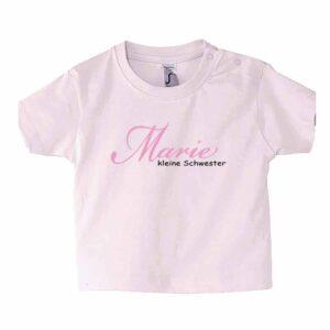 Kindername Kleine Schwester Kinder T-Shirt