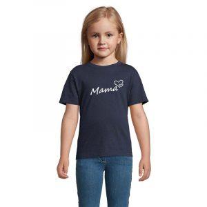 Mama mit Herz Kinder T-Shirt