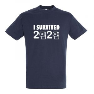 I Survived 2020 Herren T-Shirt