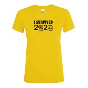 I Survived 2020 Damen T-Shirt
