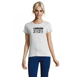 I Survived 2020 Damen T-Shirt