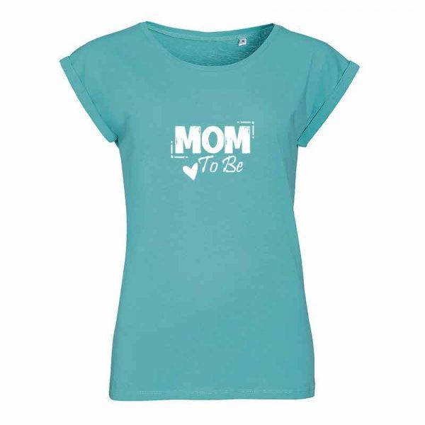 Mom To Be Damen T-Shirt