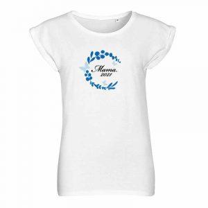 Mama 2021 mit Kranz T-Shirt