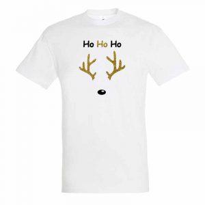 Ho Ho Ho Rentier Herren T-Shirt