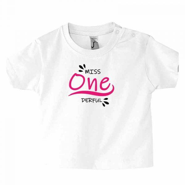Miss/Mister One Derful Kleinkind T-Shirt