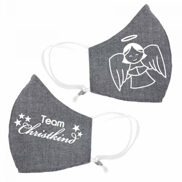 Team Christkind Behelfsmaske