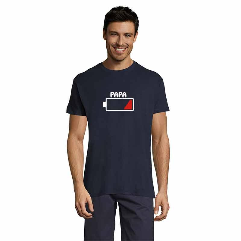 Batterie Papa Herren T-Shirt