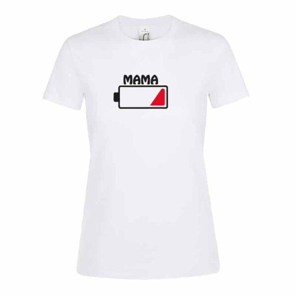 Batterie Mama Damen T-Shirt