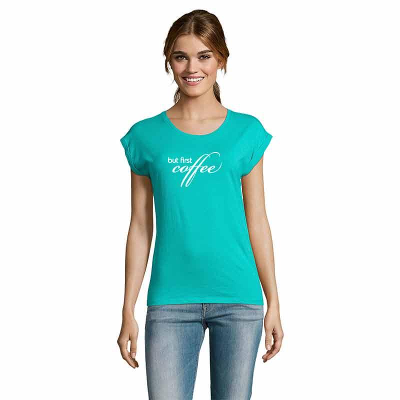 But First Coffee Damen T-Shirt