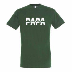Papa und Kindernamen Herren T-Shirt