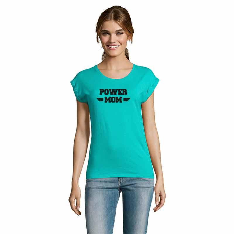 POWER-MOM Damen T-Shirt