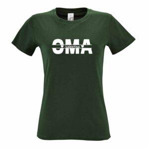 Oma und Kindernamen Damen T-Shirt