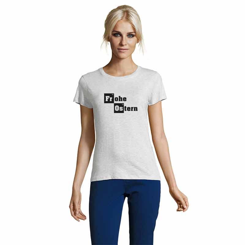 Frohe Ostern Damen T-Shirt