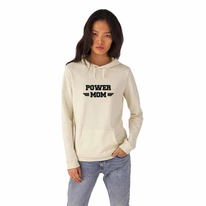 POWER-MOM Damen Hoodie
