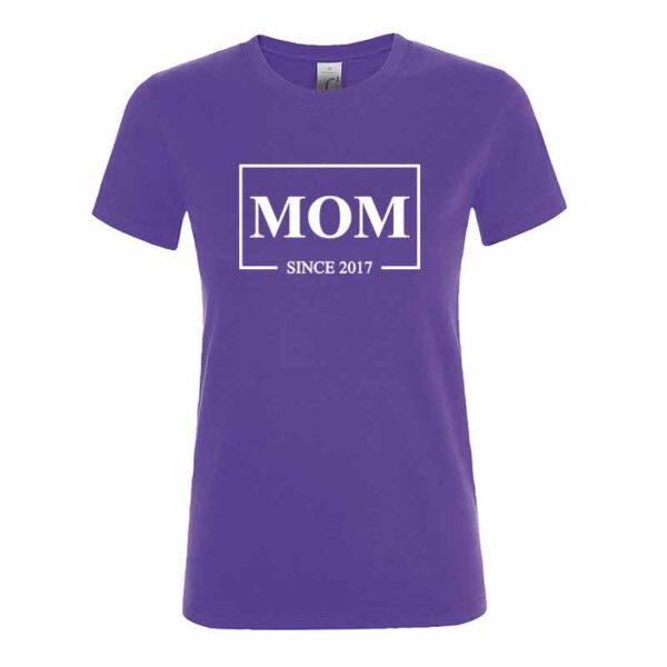 MOM Since Damen T-Shirt